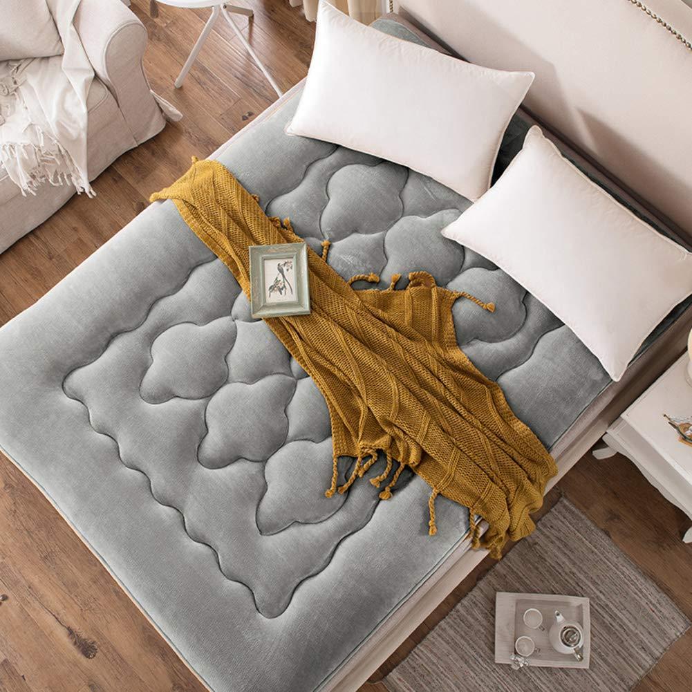 J 200x200cm(79x79inch) Thicken Student Dormitory Mattress,Household Double Tatami Mattress Stilvoll Comfortable Four Season Floor Mattress-o 180x200cm(71x79inch)