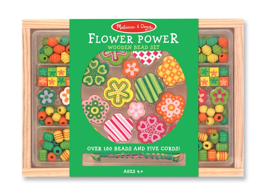 Bead Set Flower Power Melissa /& Doug