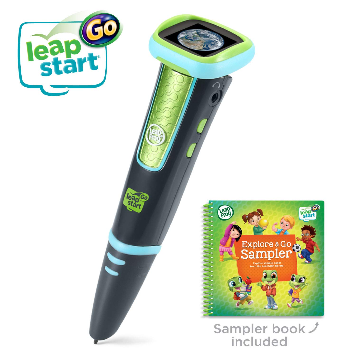 LeapFrog LeapStart Go System, Charcoal and Green by LeapFrog