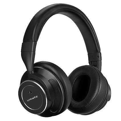 d9e74130700 LinkWitz Noise Cancelling Kopfhörer Bluetooth Bügelkopfhörer mit aktiver  Rauschunterdrückun, Hi-Fi Stereo Sound und