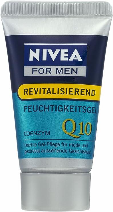 Nivea For Men revitalisierendes Humedad Gel Q10, 15 ml, 3 Pack (3 x 15 ml): Amazon.es: Belleza
