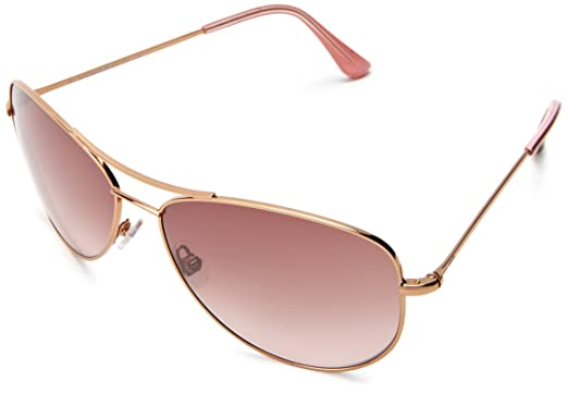 6da33ae531e0 Amazon.com: Kate Spade Ally 3/S Ally 3/S Aviator Sunglasses,Rose ...