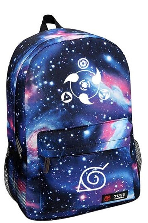 YOYOSHome Japaneseアニメコスプレ光Daypackメッセンジャーバッグバックパックスクールバッグ  Naruto3 B01AG5TYMI