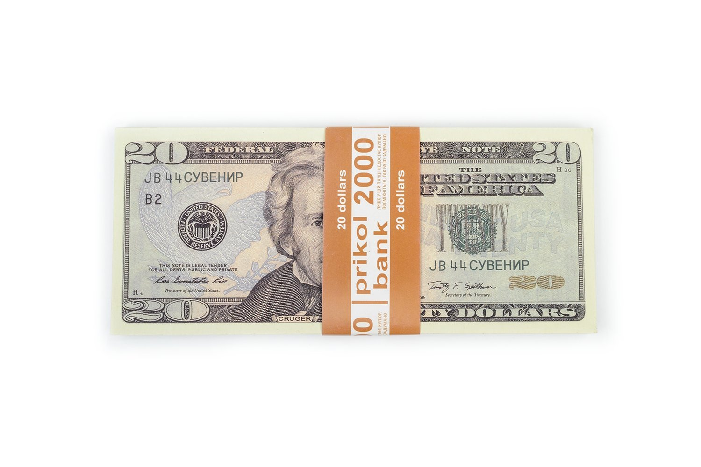 PROP MONEY, (80)New 20 dollar bill, Fake money For Movies