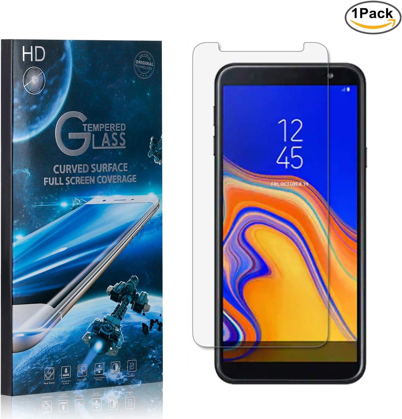 NBKASE Cristal Templado Galaxy J6 Plus 2018, Protector de Pantalla Samsung Galaxy J6 Plus 2018, Vidrio Protector de Pantalla[9H Dureza][Alta Definición]1 Piezas: Amazon.es: Bebé