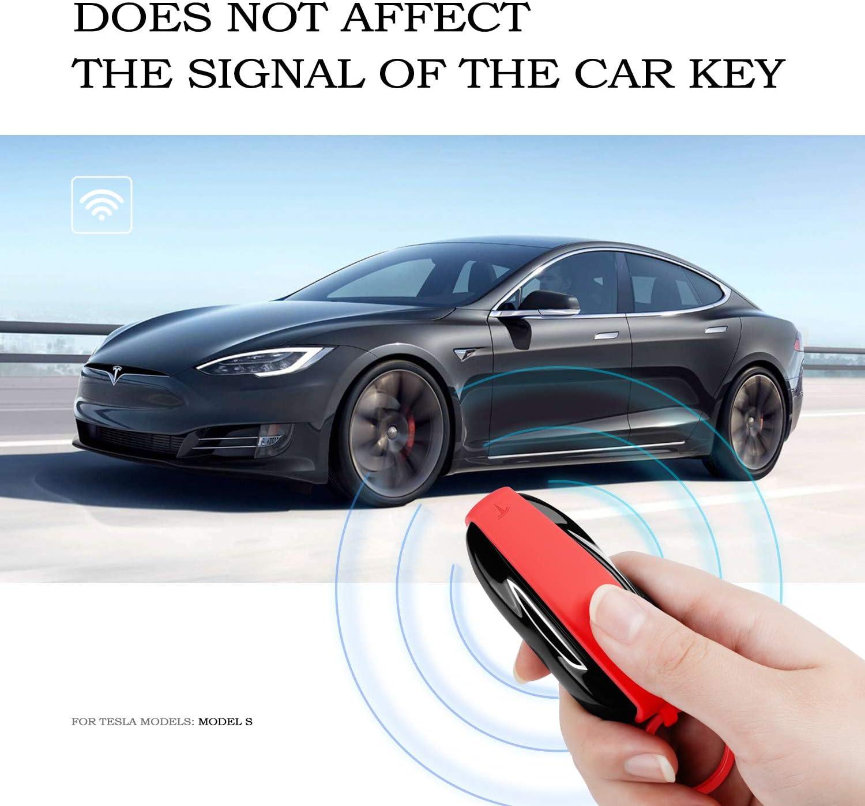 Olaike Key Fob Cover Für Tesla Model S Hochwertige Computer Zubehör