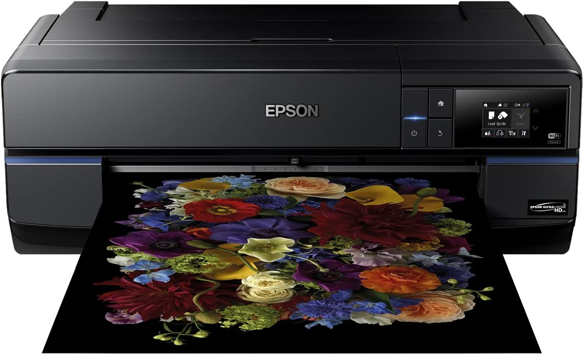 Epson SC-P800 - Impresora de Tinta (2880 x 1440 dpi, 220-240 V, 50/60 Hz, A2, Papel fotográfico, Papel Normal, Rodillo, USB), Ya Disponible en Amazon Dash Replenishment