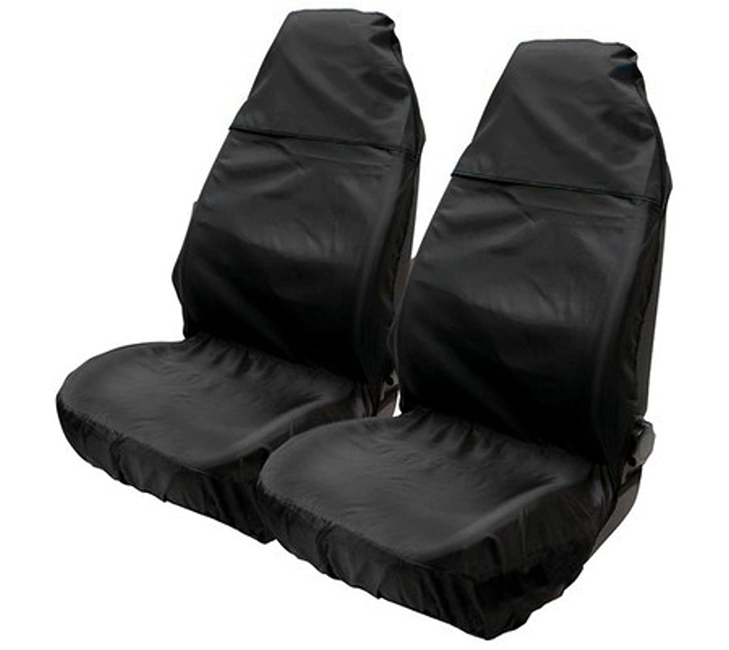 Black ASC Nylon Seat Cover Protector Water Resistant