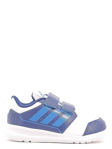 new styles 547d8 544ff Adidas AQ3752 Chaussures de sport Garçon White-blue 20