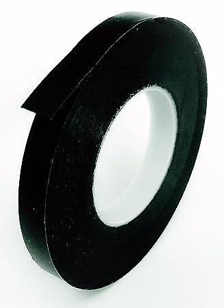 Amazon com graphic chart tape vinyl black glossy 1 4 x 324