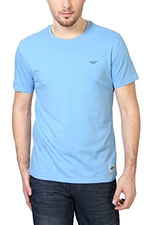 Van Heusen Men's T-Shirt - Blue