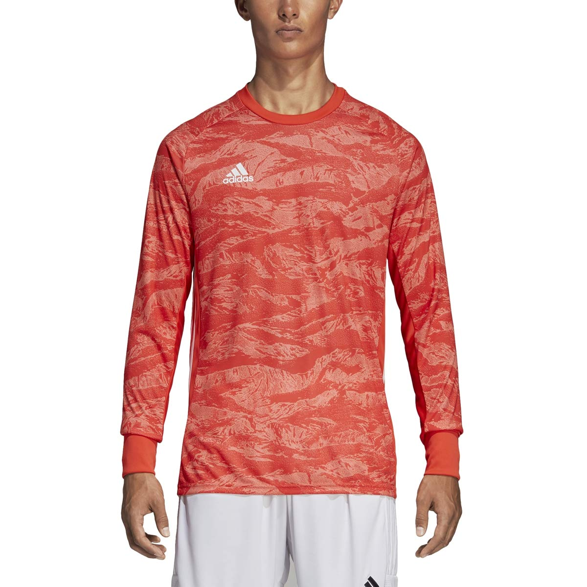 adidas AdiPro 19 Goalkeeper Long Sleeve Jersey (Small, semi Solar red) by adidas