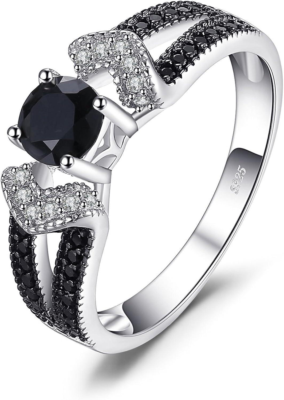 Damen Mode Elegant 925 Silber Glänzend Blume Diamantring Exquisite 8*Dp
