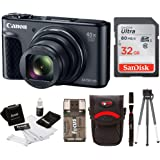 Canon Powershot SX730 Digital Camera Bundle (SX730 32GB, Black)
