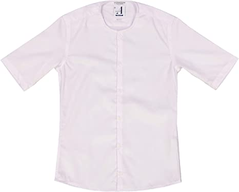 Amazon.com: Alviso Boys White Short Sleeve Slim Fit Dress Shirt ...
