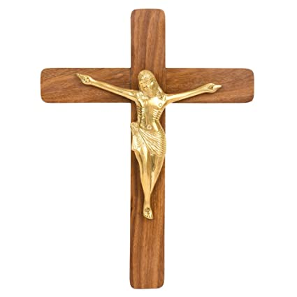 Hashcart Rosewood Jesus Christ Cross With Statuewooden Crucifix Wall Crosschristian Crosswall Crucifix Catholicwall Mounted Crossrosewood