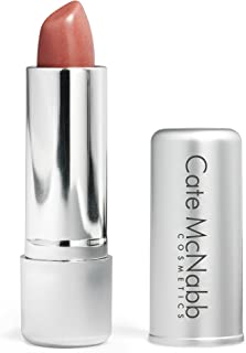product image for Seashell | Neutral Peach Lipstick - Satin Naturals Long-Lasting Shine Collection, Moisturizing Ingredients, Paraben-Free, Gluten-Free Formula, Cate McNabb Cosmetics, 0.16 oz.