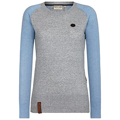 QZUnique Mens Crewneck Knitted Sweater Pullover Long Sleeves Knitwear