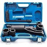 FCH 68 Model Heavy Duty Torque Multiplier Set 4pcs Socket 21mm 33mm 38mm 41mm Wrench Lug Nut Lugnuts Remover Labor Saving Fits for Minivan, Medium Trucks and Heavy Trucks