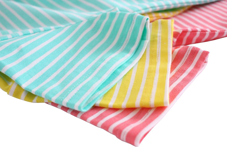 ABClothing Chemise de Nuit en Coton Jolie Cerise pour Filles 3-12 Ans Vert Rouge Jaune