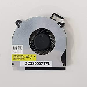 Z-one Fan Replacement for Dell Latitude E6410 E6510 Series CPU Cooling Fan 04H1RR DC280007TFL 4-Wire 4-pin
