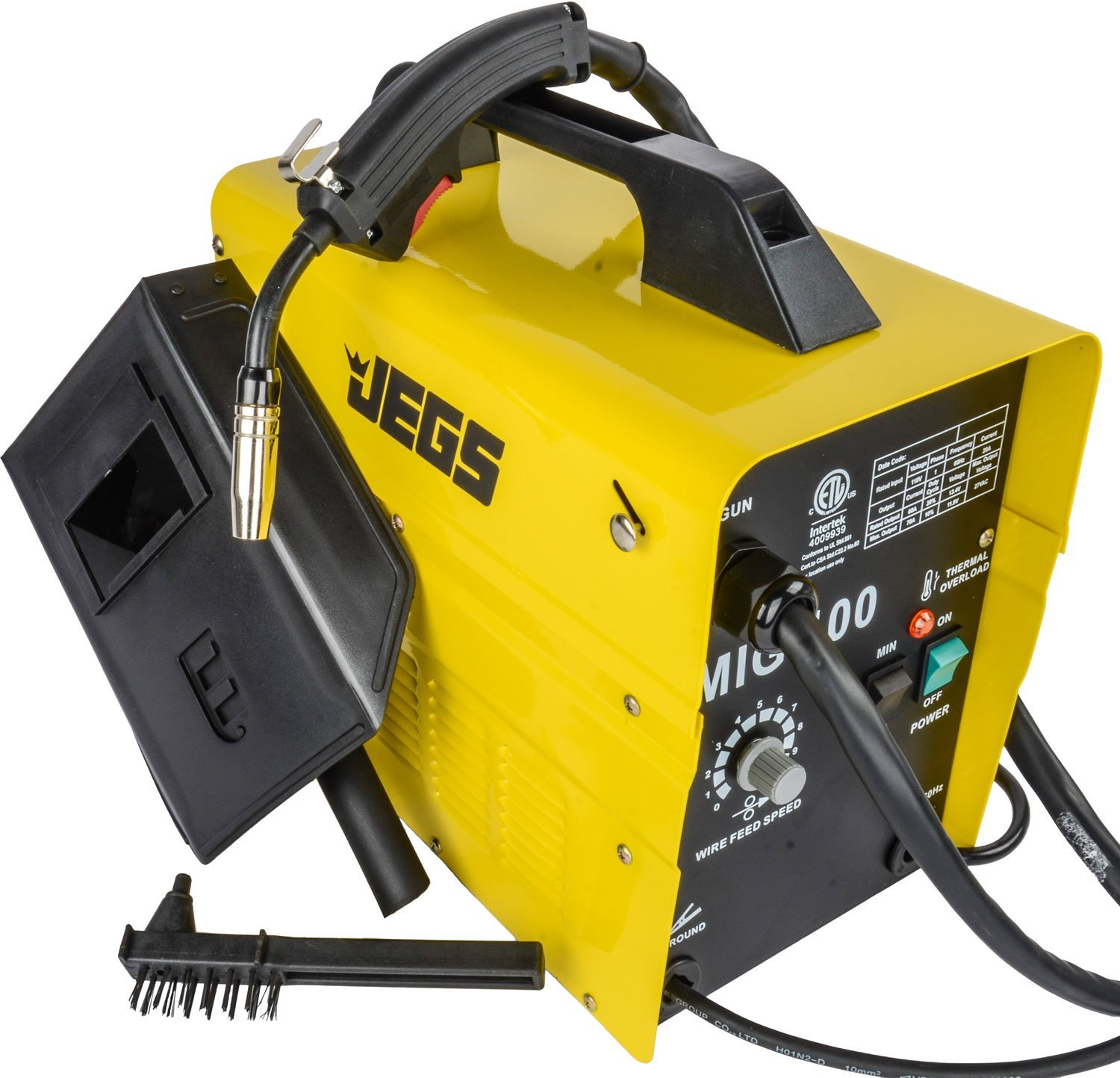 JEGS Performance Products 81540 MIG 100 Gasless Welder 110V AC