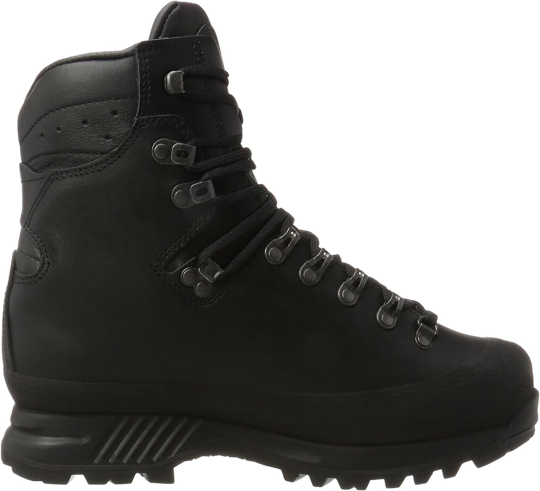 Hanwag Herren Alaska Wide GTX Trekking- & Wanderstiefel Schwarz Schwarz Black
