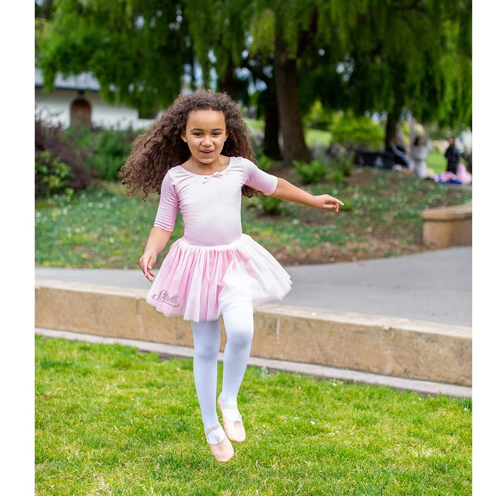 3827b750bf6c Amazon.com: STELLE Toddler/Girls Cute Tutu Dress Leotard for Dance,  Gymnastics and Ballet: Clothing