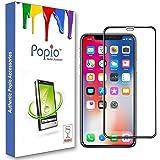 POPIO Edge to Edge Full Screen Tempered Glass Screen Protector (iPhone XR)