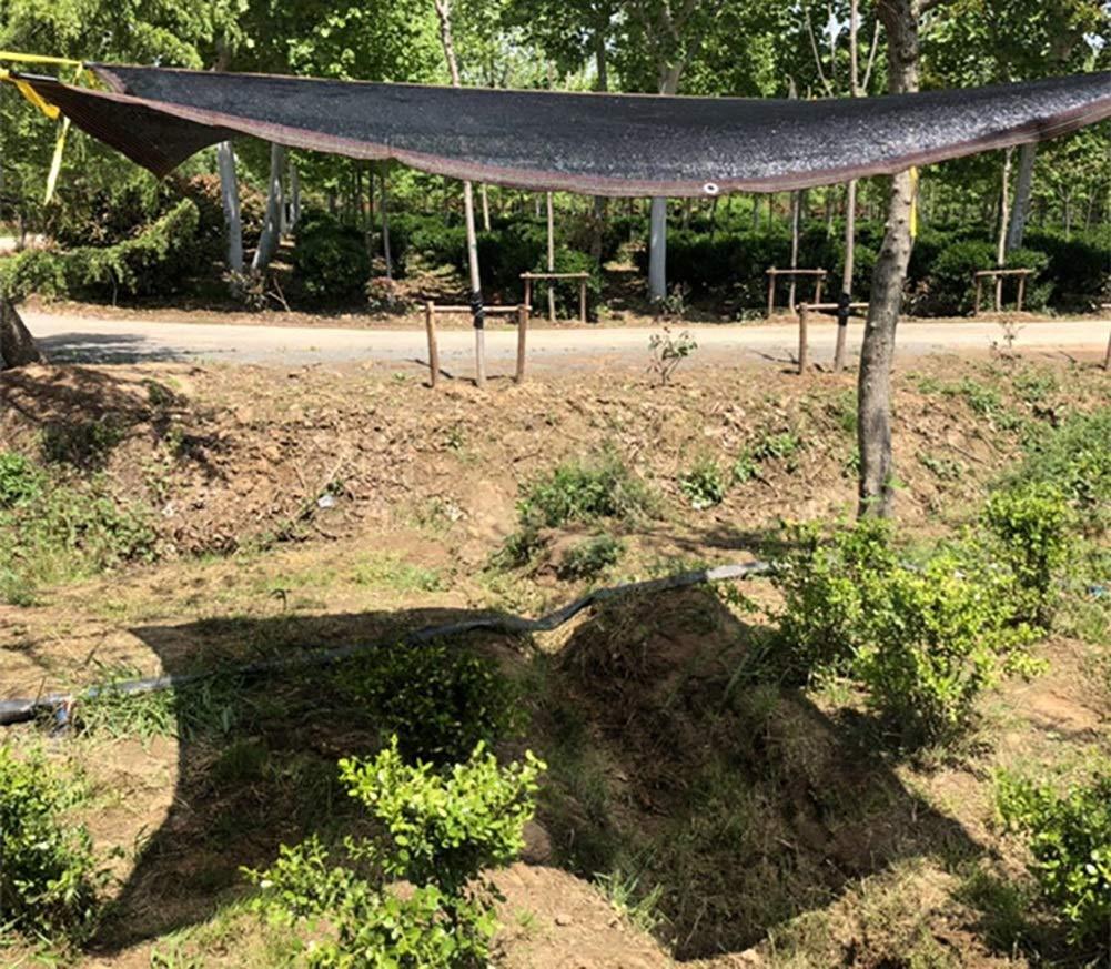 4m WOLJW Sunblock Shade Tissu avec Oeillets R/ésistant aux UV L/éger 90/% Filet pour Les abris de Voitures Patio Garden Greenhouse,3