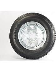 205/75D14 Trailer Tire (205/75D14 Trailer Tire - Galvanized Rim)