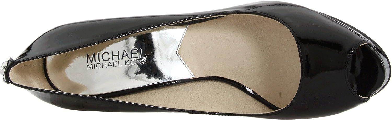 MICHAEL KORS woman sprung open toe 40F1YOHP1A YORK PLATFORM: Amazon.co.uk:  Shoes & Bags