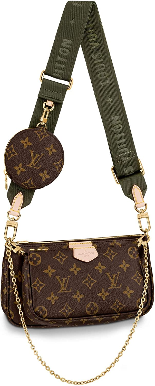 Louis Vuitton Multi Pochette Accesorios Crossbody Bolsas Bolso Kaki M44813 Shoes