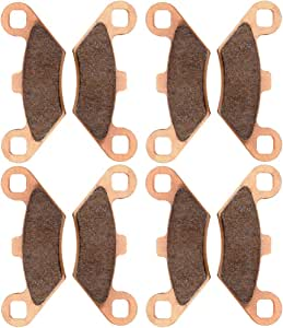 FEIPARTS Original Replacement Front and Rear 3 pairs brake shoes Fit For 1988-2000 for Honda FourTrax 300