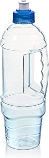 product image for Arrow Home Products H2O Traveler Bottle, 1 L, Clear with Blue Cap