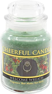 product image for A Cheerful Giver Welcome Wreath Jar Candle, 6-Ounce