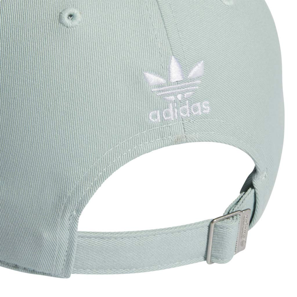 adidas Women's Originals Outline Logo Relaxed Adjustable Cap, Ash Green/White, One Size by adidas (Image #7)