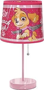 Nickelodeon Paw Patrol Skye Stick Lamp, Pink