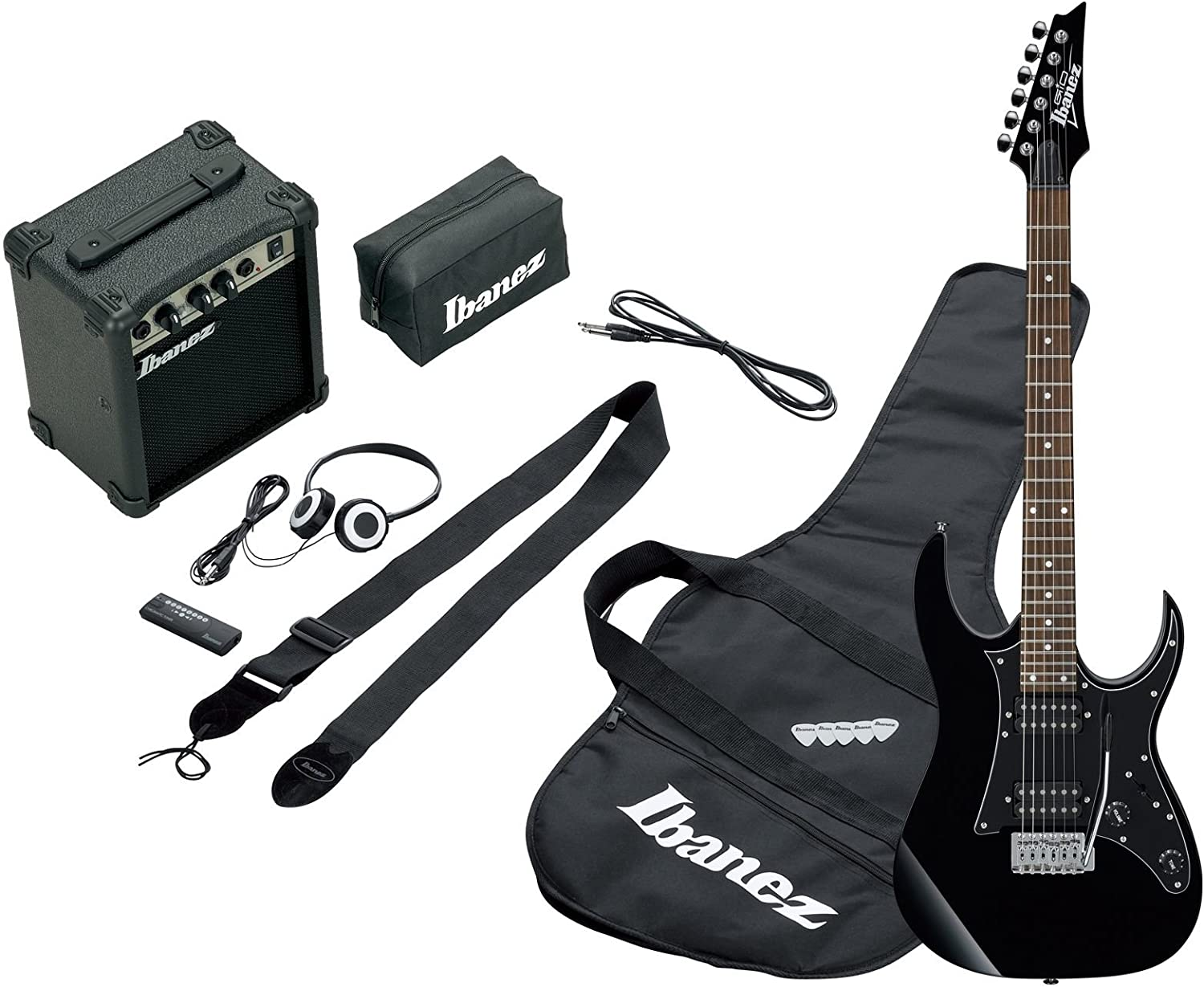 Ibanez IJRG200-BK - Guitarra eléctrica, color negro: Amazon.es ...