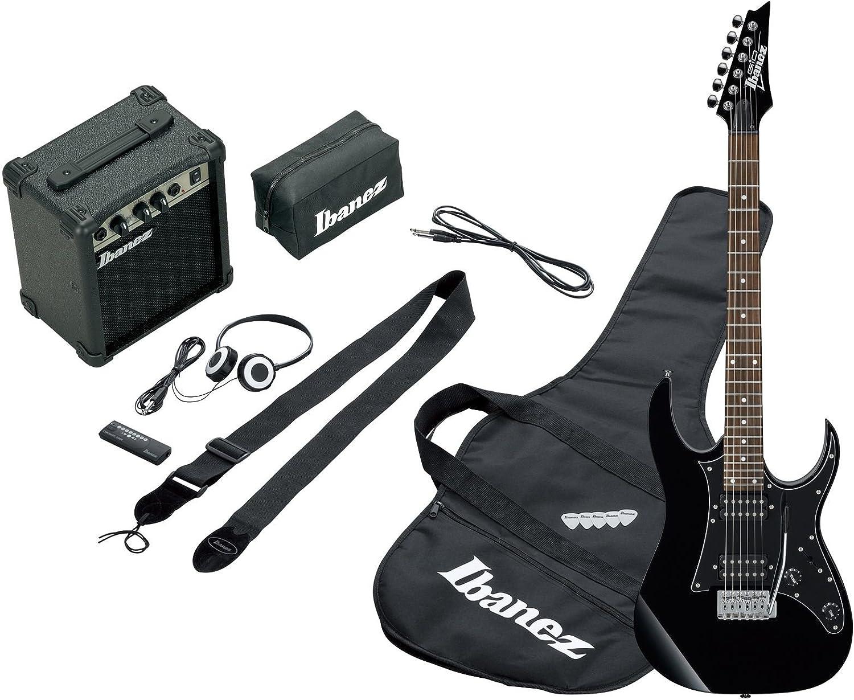 Ibanez IJRG200-BK - Guitarra eléctrica, color negro: Amazon.es: Instrumentos musicales