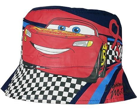 93381d0729b Disney Pixar Cars Official Boys Bucket Hat Reversible
