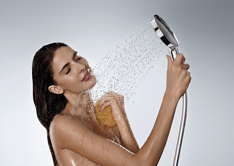 3 Strahlarten hansgrohe Raindance Select S 120 Duschset 0,65m Chrom