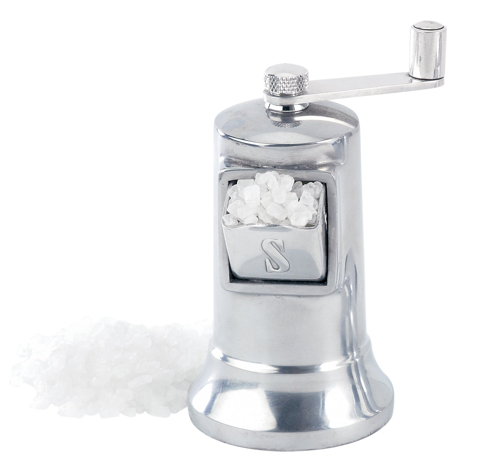 Perfex Adjustable Salt Grinder Mill, Made in France, Stainless Steel Mechanism, 4.5-Inches by Perfex