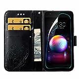 LG K30 Wallet Case,LG K10 2018 Case with HD