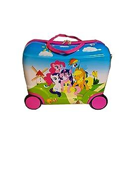 Maletas De Viaje Infantil My Little Pony 4 Ruedas Equipaje De Mano: Amazon.es: Equipaje