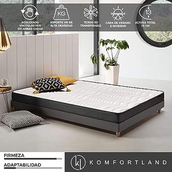 Komfortland Colchon 150x190 viscoelastico Memory Dream 130, 4 cm de Viscosensitive