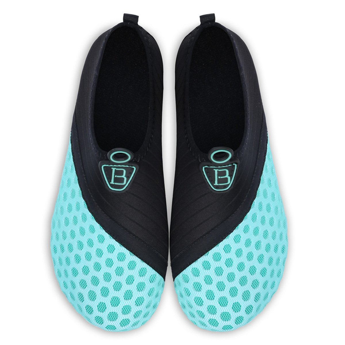 Barerun Barefoot Quick-Dry Water Sports Shoes Aqua Socks for Swim Beach Pool Surf Yoga for Women Men 8.5-9.5 US Women by Barerun (Image #5)