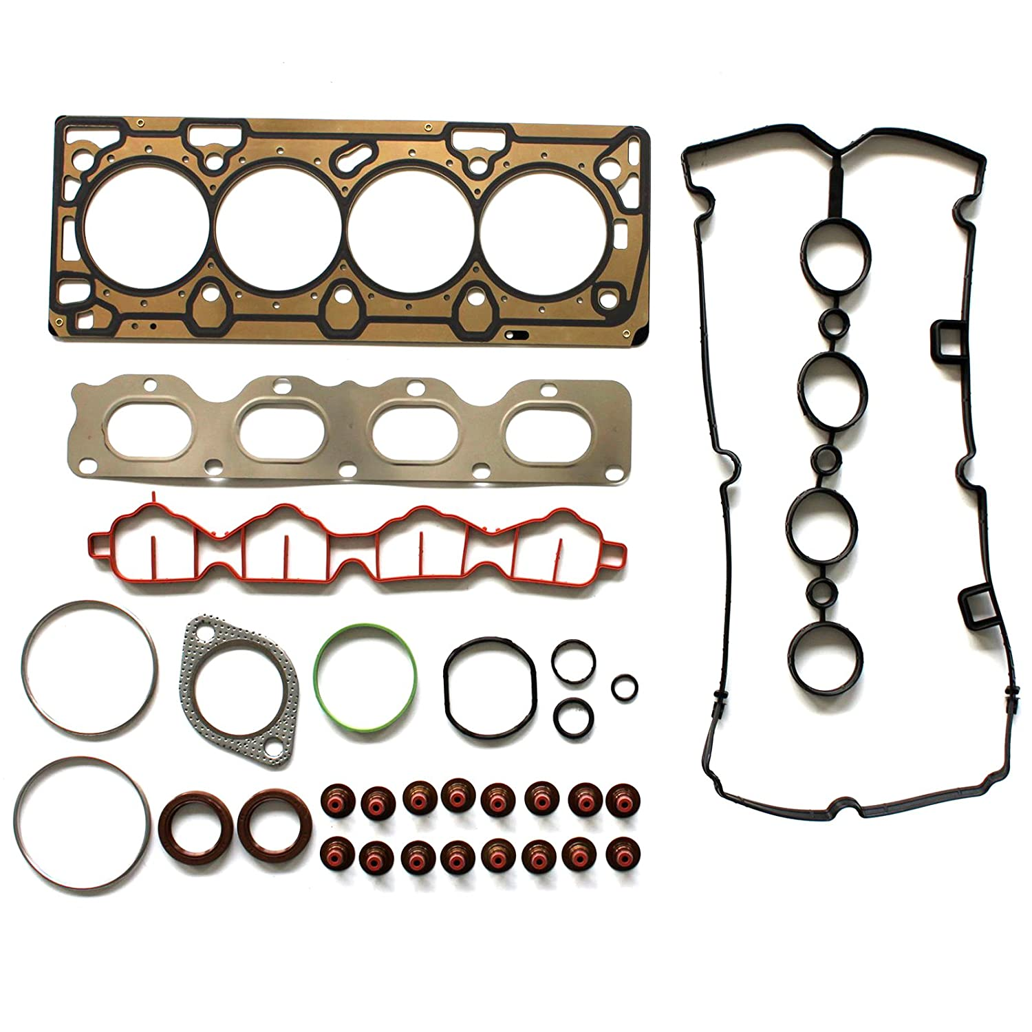 Eccpp Compatible Fit For Head Gasket Set 2009 2011 Belt Diagram Pontiac G3 Chevrolet Aveo Aveo5 16l Automotive Replacement Engine Gaskets Kit