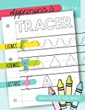 Apprenons à tracer : Lignes Formes Lettres : Cahier d'activités pour enfants : Âges 3 et +: Un cahier de graphisme pour jeunes enfants débutants pour ... (âgés de 3 à 5 ans) (French Edition)