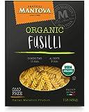 Mantova Italian Organic Spirali Pasta - 100% Durum Semolina Organic Rotini - 16 Oz (Pack Of 12) - Product Of Italy